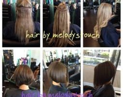 Photo #2: MICRO LINKS AND WEAVES.  Melody's Touch Salon