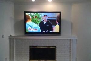 Photo #1: TV wall mount service. LA's Expert