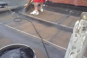 Photo #4: New flat roof 12 year warranty or repair