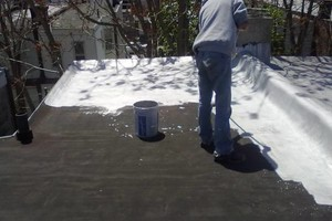 Photo #12: New flat roof 12 year warranty or repair