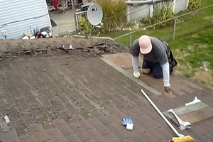 Photo #15: New flat roof 12 year warranty or repair