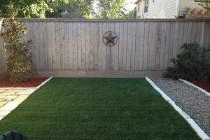 Photo #3: Austin's PREMIER Artificial Grass Landscaping Company!
