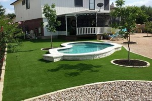 Photo #7: Austin's PREMIER Artificial Grass Landscaping Company!