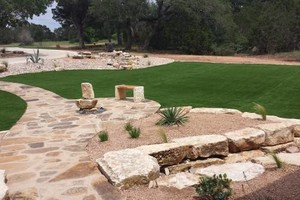 Photo #9: Austin's PREMIER Artificial Grass Landscaping Company!