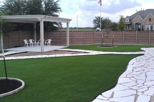 Photo #11: Austin's PREMIER Artificial Grass Landscaping Company!