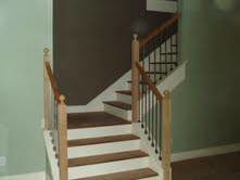 Photo #1: JG Woodcrafters. Stairbuilder, Baluster Replacement, Stair Upgrades