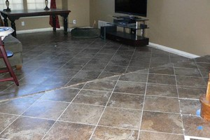Photo #6: Tile install, bathrooms remodel..