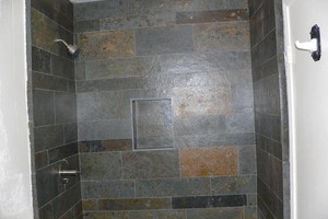 Photo #5: Tile install, bathrooms remodel..