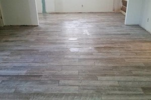 Photo #2: Tile install, bathrooms remodel..