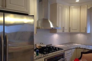 Photo #8: Finish kitchen and basement remodeling.  Ken's team