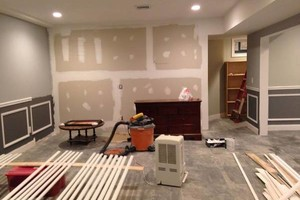 Photo #6: Finish kitchen and basement remodeling.  Ken's team
