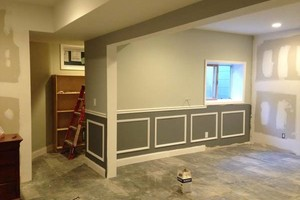Photo #5: Finish kitchen and basement remodeling.  Ken's team