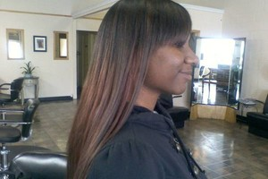 Photo #24: OPEN TODAY! BLACK HAIR CARE SPECIALIST, PRESS, FLAT IRON, RELAXER!