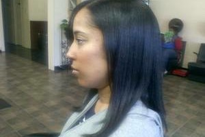 Photo #4: OPEN TODAY! BLACK HAIR CARE SPECIALIST, PRESS, FLAT IRON, RELAXER!