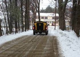 Photo #3: Plowing, Sanding & Salting, Snow Removal Services