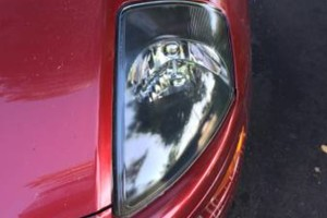 Photo #2: Bodywork - rubber bumper repair, headlight refinishing, scratches - same day service!