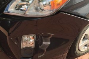 Photo #3: Bodywork - rubber bumper repair, headlight refinishing, scratches - same day service!