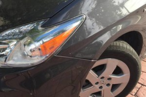 Photo #4: Bodywork - rubber bumper repair, headlight refinishing, scratches - same day service!