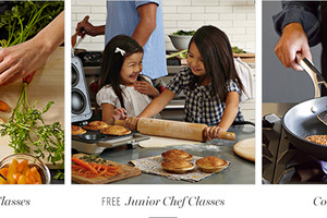Photo #1: Williams-Sonoma Cooking Class