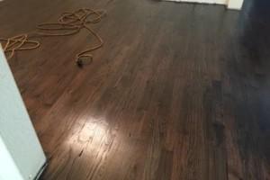 Photo #4: Tony Hardwood flooring (Sand/ Repair/ Stain/ Waxed/ Install/ Stairs)