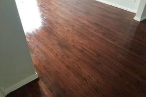 Photo #2: Tony Hardwood flooring (Sand/ Repair/ Stain/ Waxed/ Install/ Stairs)