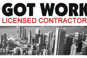 Photo #1: GOT WORK? - Licensed Contractors