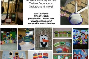 Photo #1: Party Rockin' Event Planning - birthdays, weddings, special events!
