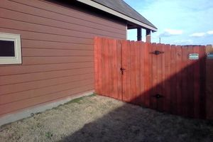 Photo #4: Does your fence need some repairs? Give us a call!