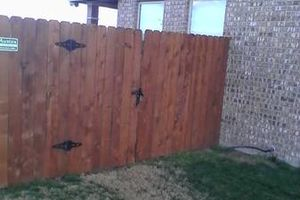 Photo #3: Does your fence need some repairs? Give us a call!