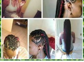 Photo #16: Braids, weaves, ponytails, up dews and much more!