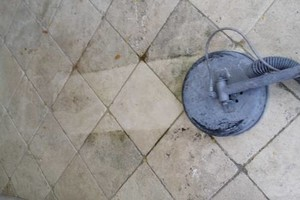 Photo #5: TILE CLEANING - NO SOAP NO CHEMICALS. ZERO-CHEM STEAM CLEANING