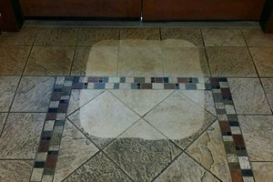 Photo #4: TILE CLEANING - NO SOAP NO CHEMICALS. ZERO-CHEM STEAM CLEANING