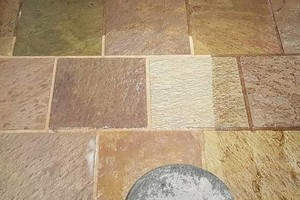 Photo #2: TILE CLEANING - NO SOAP NO CHEMICALS. ZERO-CHEM STEAM CLEANING