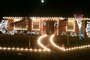 Photo #7: Holiday Lighting for all/ Christmas Lights done right