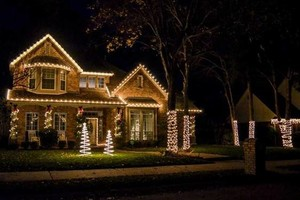Photo #6: Holiday Lighting for all/ Christmas Lights done right