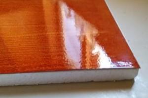 Photo #5: 2x2 faux finish ceiling tiles