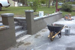 Photo #11: All kinds of masonry work