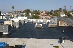 Photo #4: Commercial and residential roofing - new roofing patching, coating, gutters