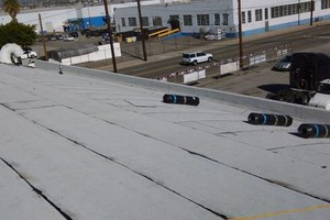 Photo #6: Commercial and residential roofing - new roofing patching, coating, gutters
