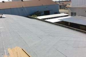 Photo #7: Commercial and residential roofing - new roofing patching, coating, gutters