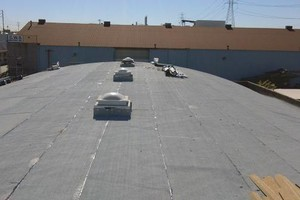 Photo #8: Commercial and residential roofing - new roofing patching, coating, gutters