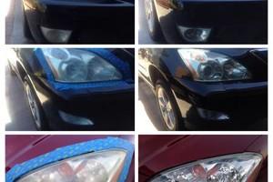 Photo #1: Headlight restoration - $85- $145