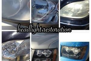 Photo #4: Headlight restoration - $85- $145
