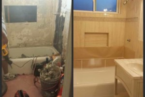 Photo #1: Jeff's Bathroom Remodeling
