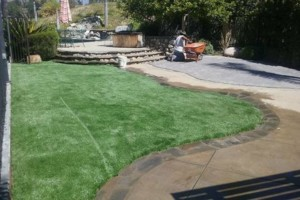 Photo #3: TURF SYNTHETIC GRASS. RA CONSTRUCTION AND LANDSCAPING