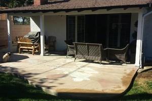 Photo #7: Amezcua Concrete Top Stain and Decorative Designs