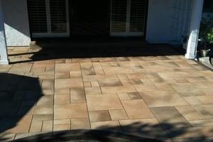 Photo #3: Amezcua Concrete Top Stain and Decorative Designs