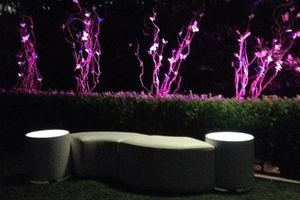 Photo #20: Lighted, Light Up Rental Event Furniture - BAR, SOFAS, OTTOMANS, BED...