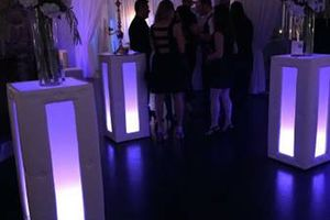 Photo #19: Lighted, Light Up Rental Event Furniture - BAR, SOFAS, OTTOMANS, BED...