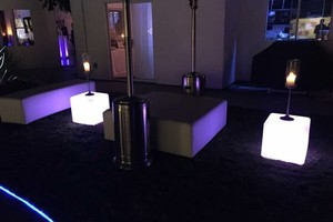 Photo #16: Lighted, Light Up Rental Event Furniture - BAR, SOFAS, OTTOMANS, BED...